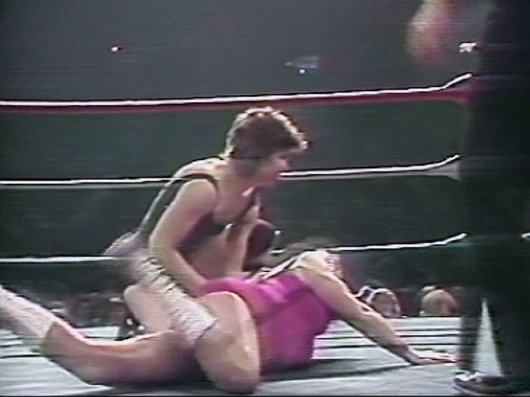 Women wrestling asian vs white
